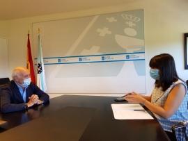 La nueva conselleira de Empleo e Igualdad inicia los contactos con los agentes sociales gallegos