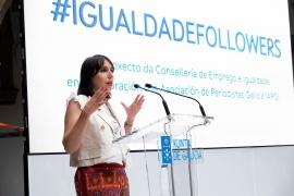 A Xunta impulsa a campaña #IgualdadeFollowers para reivindicar o papel da muller en Galicia e concienciar á mocidade sobre a importancia da perspectiva de xénero