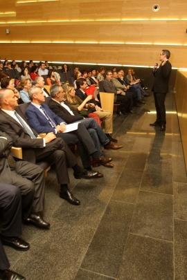 O vicepresidente da Xunta, Alfonso Rueda, inaugurou esta tarde en Pontevedra o 'Seminario de Conciliación e Corresponsabilidade APE Galicia'