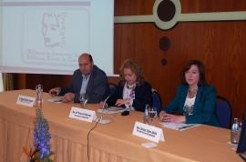 A secretaria xeral da Igualdade, Susana López Abella, inaugurou as Xornadas de Desenvolvemento Rural que se celebraron no Balneario de Laias, en Cenlle