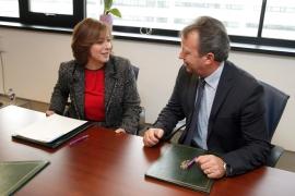 A secretaria xeral da Igualdade, Susana López Abella, asinou un convenio de colaboración en materia de violencia de xénero coa Federación de Autónomos do Taxi de Galicia (Fegataxi)
