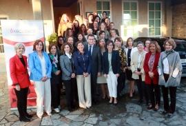 O presidente da Xunta asiste ao almorzo organizado por 'Executivas de Galicia'