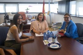 A Xunta mantén unha xuntanza coa Asociación de Empresarias de Galicia