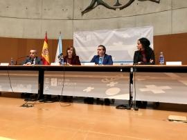 """A secretaria xeral da Igualdade,Susana López Abella participou na inauguración das VI Xornadas Alar Galicia """"Muller e Menores: exclusión e violencia"""""""