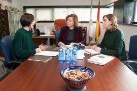 A secretaria xeral da Igualdade, Susana López Abella, mantivo hoxe unha xuntanza coa directora territorial da Fundación Secretariado Xitano en Galicia