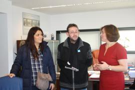 A Secretaria Xeral da Igualdade, Susana López Abella mantivo unha reunión co Presidente da Asociación Provincial de Empresarios de Hostelería de Lugo, José Francisco Real Castro