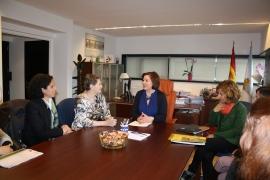 La secretaria xeral de Igualdade, Susana López Abella se reune con la Comisión de Mujer del CERMI