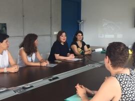 La secretaria general de la Igualdad, Susana López Abella, participó esta tarde en las jornadas de clausura del Programa Daleth