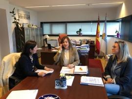 A Secretaria Xeral da Igualdade mantivo unha xuntanza coa alcaldesa de Betanzos ca  finalidade de abrir novas liñas de colaboración,entre elas a posibilidade da posta en marcha dun CIM.
