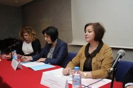 A secretaria xeral da Igualdade, Susana López Abella, destacou hoxe o traballo da ONCE para mellorar a vida das mulleres con discapacidade de Galicia
