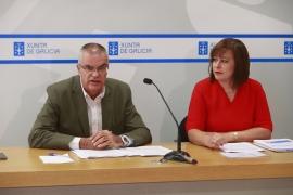 A secretaria xeral de Igualdade, Susana López Abella, e o director xeral de Emerxencias, Santiago Villanueva, presentaron hoxe o plan de formación
