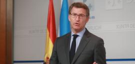 El presidente del Gobierno gallego, Alberto Núñez Feijóo, anunció hoy la aprobación del Observatorio gallego contra la discriminación por orientación sexual e identidad de género