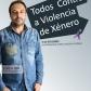 """Cartel """"Todos contra a Violencia de Xénero"""" - Roberto Vilar"""